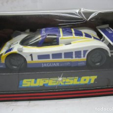Slot Cars: ¿SCALEXTRIC? SUPERSLOT REF: C.054 - COCHE DE CARRERAS KOTZTING JAGUAR 1 CASTROL. Lote 114977547