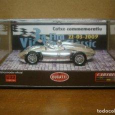 Slot Cars: CARTRIX BUGATTI FIRA VIC 2009 REF 0014 PRECINTADO. Lote 116194039