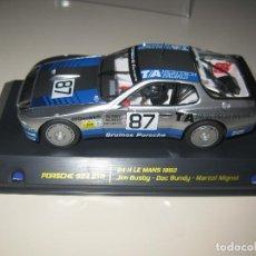 Slot Cars: 02005 - PORSCHE 924 GTR BRUMOS DE LE MANS 1982 DE FALCON SLOT. Lote 137126858