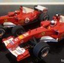 Slot Cars: FERRARI F2004 SCALEXTRIC PAREJA . NO EXIN, NO TYCO.. Lote 117666259