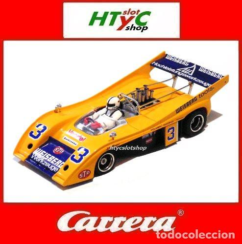 CARRERA MCLAREN M20 #3 INTERSERIE 1974 HELMUT KELLENERS 27380 (Juguetes - Slot Cars - Magic Cars y Otros)