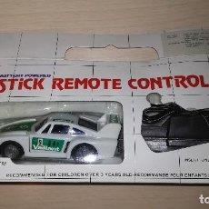 Slot Cars: COCHE DIRIGIDO STICK REMOTE CONTROL, AÑOS 80. Lote 118602931