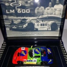Slot Cars: FLY A27 MARCOS LM 600 4H. JARAMA 1998. Lote 119232643