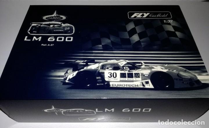 Slot Cars: FLY A27 MARCOS LM 600 4H. JARAMA 1998 - Foto 2 - 119232643