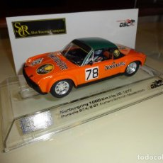 Slot Cars: SRC. PORSCHE 914/6 GT. 1000KM NURBURGRING 1972. JAGERMEIFTER.. Lote 212795433