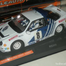 Slot Cars: FORD RS 200 RALLY 1976 SCALEAUTO/SCALEXTRIC NUEVO. Lote 120794211