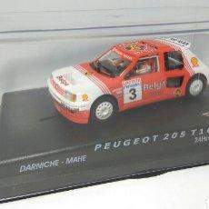 Slot Cars: SPIRIT PEUGEOT 205 T16 BELGA. Lote 120966647