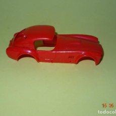 Slot Cars: PRUEBA DE MOLDE COLOR DEL SHELBI AC COBRA CAPOTADO DE REPROTEC CAPOTA ROJA INEDITA. Lote 121059471