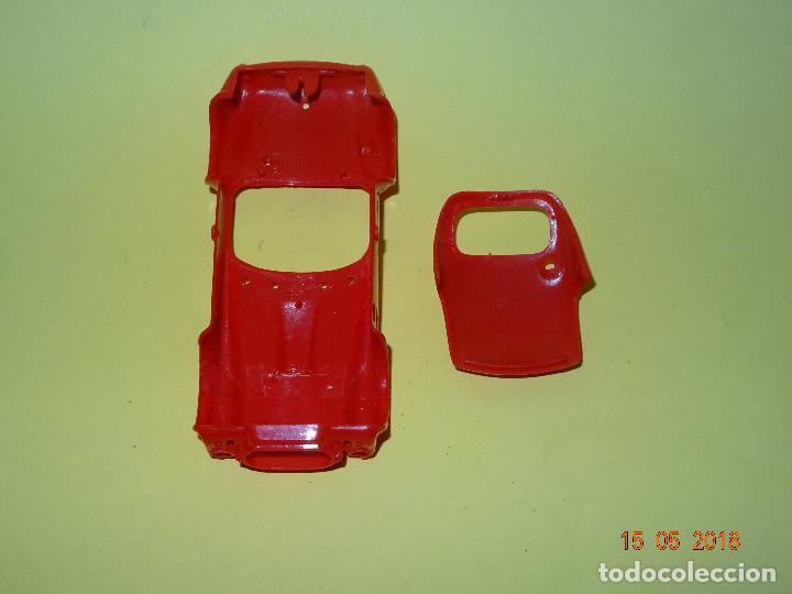 Slot Cars: Prueba de Molde Color del SHELBI AC COBRA Capotado de REPROTEC Capota Roja Inedita - Foto 4 - 121059471