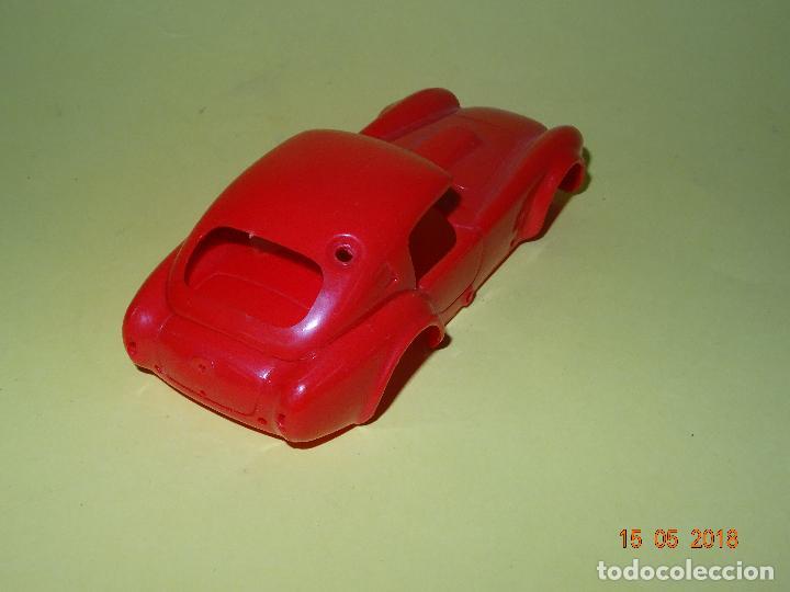 Slot Cars: Prueba de Molde Color del SHELBI AC COBRA Capotado de REPROTEC Capota Roja Inedita - Foto 6 - 121059471