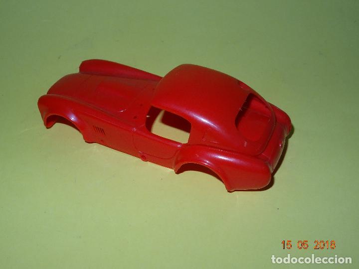 Slot Cars: Prueba de Molde Color del SHELBI AC COBRA Capotado de REPROTEC Capota Roja Inedita - Foto 7 - 121059471