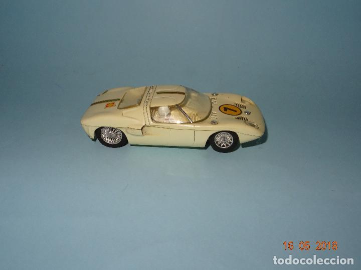 ANTIGUO FORD GT ESCALA 1/32 DE STROMBECKER PAYA - AÑO 1960S (Juguetes - Slot Cars - Magic Cars y Otros)
