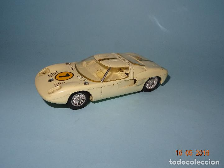 Slot Cars: Antiguo FORD GT Escala 1/32 de STROMBECKER PAYA - Año 1960s - Foto 3 - 121117707