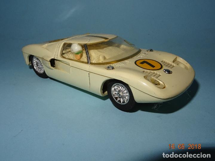 Slot Cars: Antiguo FORD GT Escala 1/32 de STROMBECKER PAYA - Año 1960s - Foto 10 - 121117707