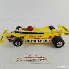 Slot Cars: RENAULT RE30 TURBO POLISTIL A126. Lote 121638699