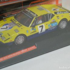 Slot Cars: DE TOMASO PANTERA LE MANS 1975 SCALEAUTO/SCALEXTRIC. Lote 122242723