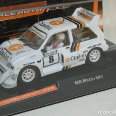 Slot Cars: MG METRO CLARION SCALEAUTO/SCALEXTRIC. Lote 122242791