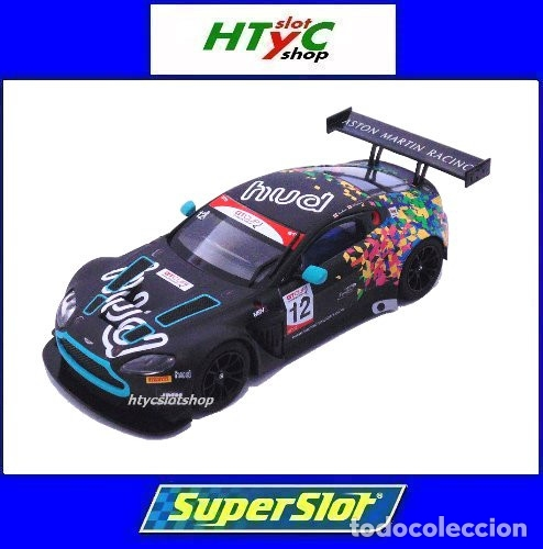 SUPERSLOT ASTON MARTIN GT3 #12 BRANDS HATCH 2017 HUDSON / WILCOX SCALEXTRIC UK H3945 (Juguetes - Slot Cars - Magic Cars y Otros)