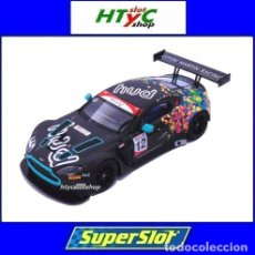 Slot Cars: SUPERSLOT ASTON MARTIN GT3 #12 BRANDS HATCH 2017 HUDSON / WILCOX SCALEXTRIC UK H3945. Lote 124003047
