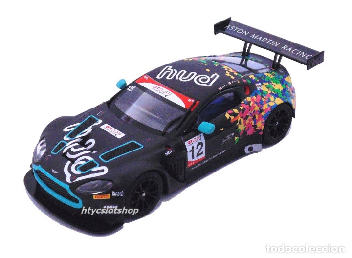 Slot Cars: SUPERSLOT ASTON MARTIN GT3 #12 BRANDS HATCH 2017 HUDSON / WILCOX SCALEXTRIC UK H3945 - Foto 2 - 124003047