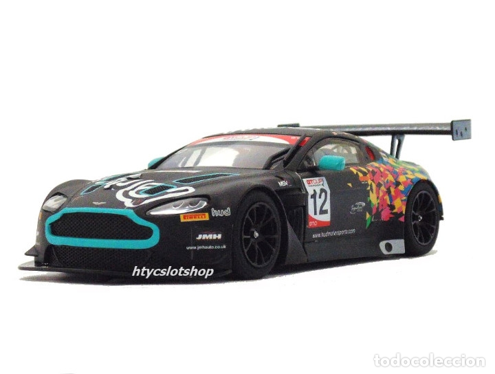 Slot Cars: SUPERSLOT ASTON MARTIN GT3 #12 BRANDS HATCH 2017 HUDSON / WILCOX SCALEXTRIC UK H3945 - Foto 5 - 124003047