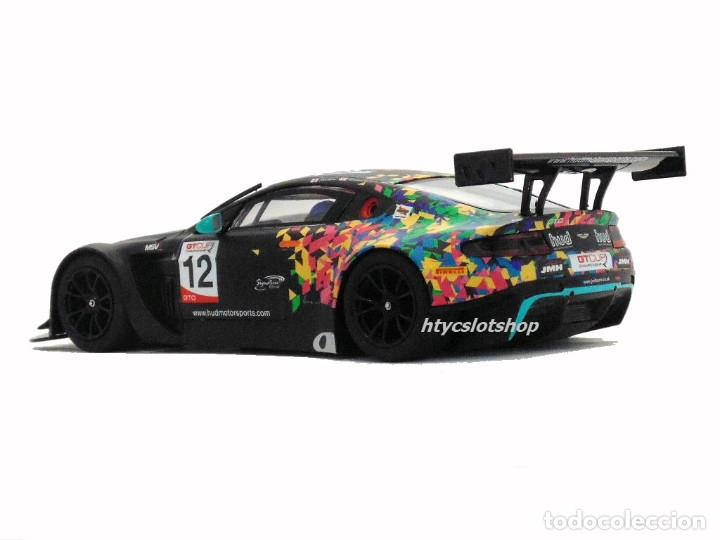 Slot Cars: SUPERSLOT ASTON MARTIN GT3 #12 BRANDS HATCH 2017 HUDSON / WILCOX SCALEXTRIC UK H3945 - Foto 7 - 124003047