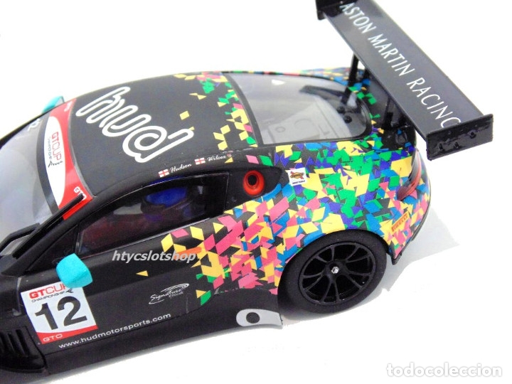 Slot Cars: SUPERSLOT ASTON MARTIN GT3 #12 BRANDS HATCH 2017 HUDSON / WILCOX SCALEXTRIC UK H3945 - Foto 9 - 124003047