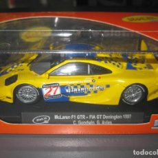 Slot Cars: MCLAREN F1 GTR AMARILLO Nº27 DE SLOT.IT. Lote 124619791