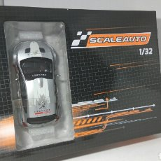 Slot Cars: SCALEAUTO PEUGEOT 208 CUP 2017 SILVER/WHITE REF. SC-6178D. Lote 124699784