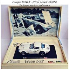 Slot Cars: MONOGRAN REVELL - CORVETTE GRAND SPORT - N 67 ROAD AMERICA 1964. Lote 93626470