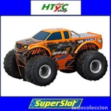 Slot Cars: SUPERSLOT TEAM MONSTER TRUCK GROWLER SCALEXTRIC H3779. Lote 125887331