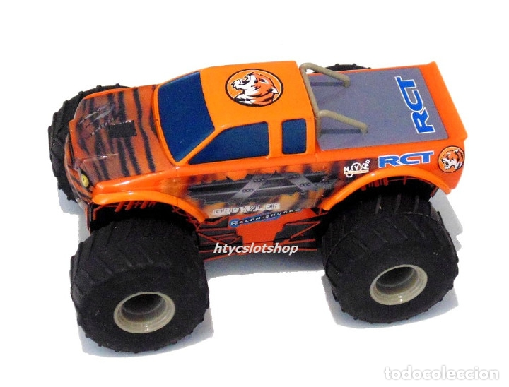 Slot Cars: SUPERSLOT TEAM MONSTER TRUCK GROWLER SCALEXTRIC H3779 - Foto 3 - 125887331