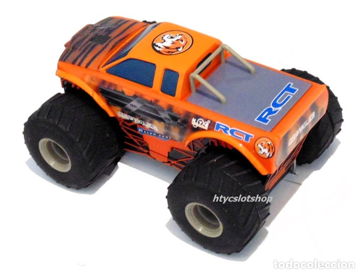 Slot Cars: SUPERSLOT TEAM MONSTER TRUCK GROWLER SCALEXTRIC H3779 - Foto 4 - 125887331