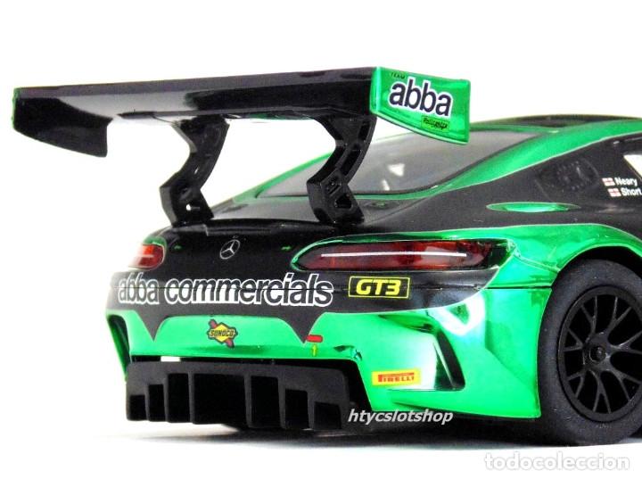 Slot Cars: SUPERSLOT MERCEDES AMG GT3 #88 ABBA BRITISH GT 2017 SHORT SCALEXTRIC UK H3943 - Foto 10 - 126848003