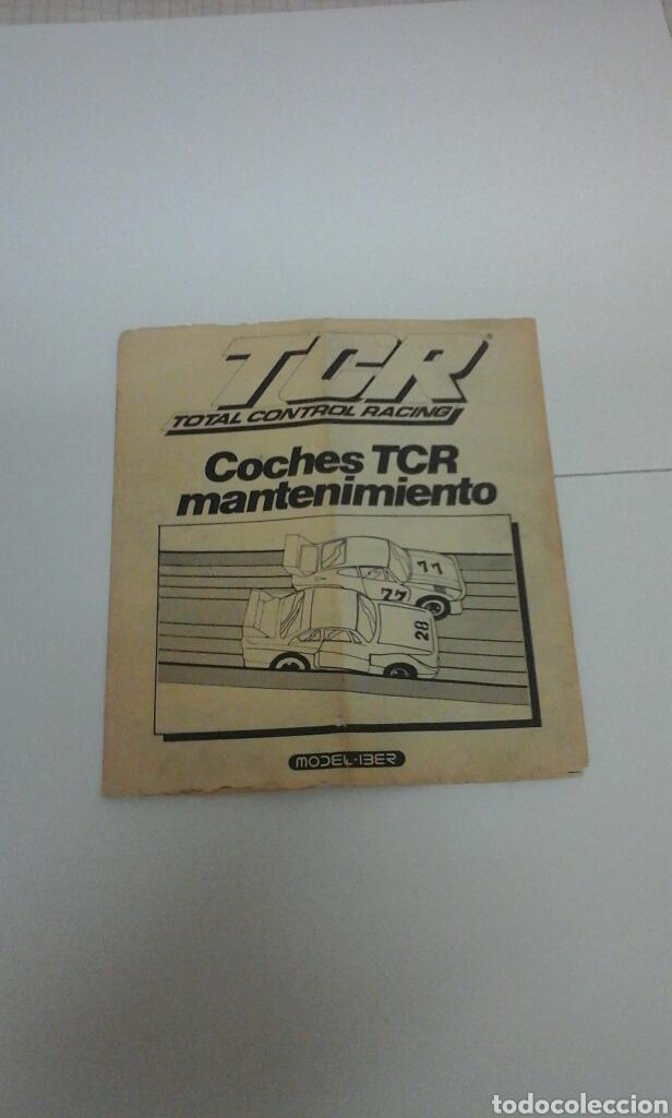 TCR MODEL-IBER MANUAL (Juguetes - Slot Cars - Magic Cars y Otros)