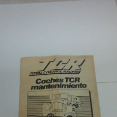 Slot Cars: TCR MODEL-IBER MANUAL. Lote 126889360