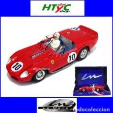 Slot Cars: LE MANS MINIATURES FERRARI 250 TR61 #10 WINNER LE MANS 1961 PHIL HILL / OLIVIER GENDEBIEN 132067/10M. Lote 127597643