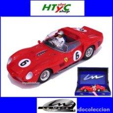 Slot Cars: LE MANS MINIATURES FERRARI 330 TRI #6 WINNER LE MANS 62 OLIVIER GENDEBIEN / PHIL HILL 132072M. Lote 127597703