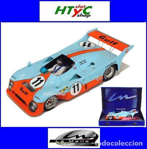 LE MANS MINIATURES MIRAGE GR8 #11 GULF 1º 24 HS LE MANS 1975 JACKY ICKX / DEREK BELL 132045-11M (Juguetes - Slot Cars - Magic Cars y Otros)