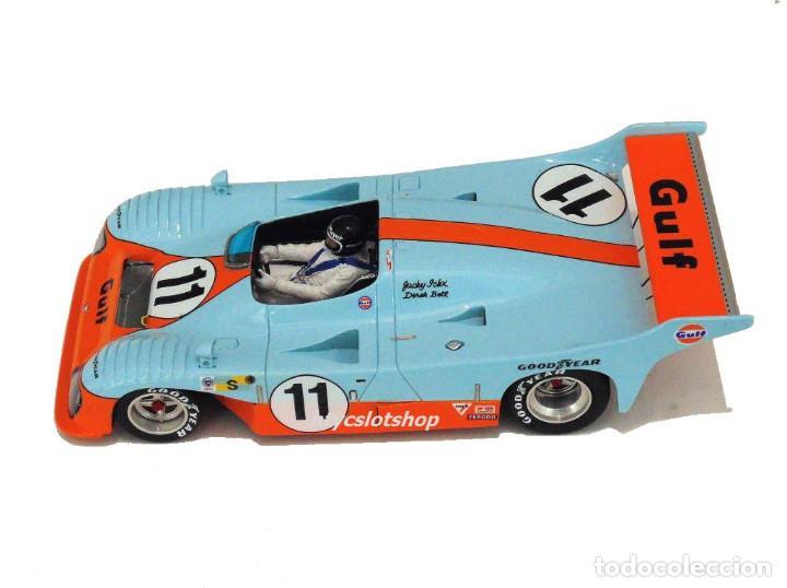 Slot Cars: LE MANS MINIATURES MIRAGE GR8 #11 GULF 1º 24 HS LE MANS 1975 JACKY ICKX / DEREK BELL 132045-11M - Foto 3 - 145492710