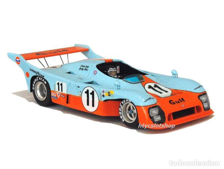 Slot Cars: LE MANS MINIATURES MIRAGE GR8 #11 GULF 1º 24 HS LE MANS 1975 JACKY ICKX / DEREK BELL 132045-11M - Foto 5 - 145492710