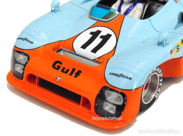 Slot Cars: LE MANS MINIATURES MIRAGE GR8 #11 GULF 1º 24 HS LE MANS 1975 JACKY ICKX / DEREK BELL 132045-11M - Foto 8 - 145492710
