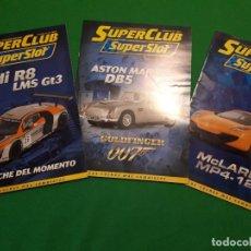 Slot Cars: REVISTAS SUPERCLUB SUPERSLOT. Lote 127847959