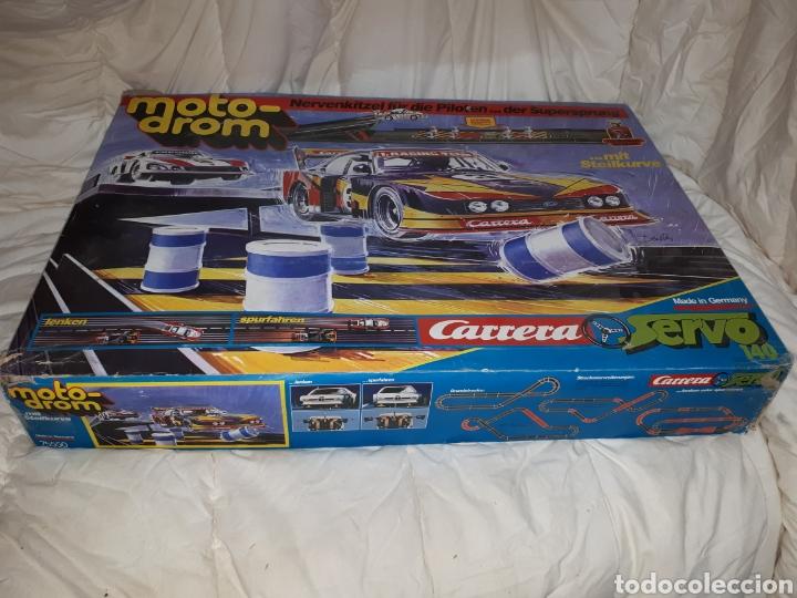 SCALEXTRIC MOTO DROM CARRERA SERVO 140 (Juguetes - Slot Cars - Magic Cars y Otros)