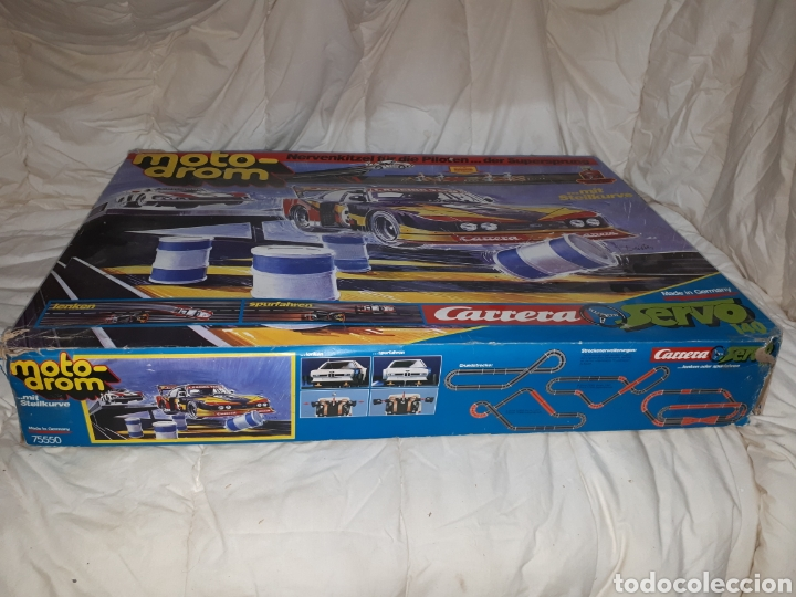 Slot Cars: SCALEXTRIC MOTO DROM CARRERA SERVO 140 - Foto 14 - 128576303