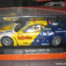 Slot Cars: CA36C - OPEL CALIBRA AVUS RING 1995 DE SLOT.IT. Lote 128617667