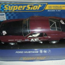 Slot Cars: FORD MUSTANG SUPERSLOT REF.-H3424. Lote 129074495