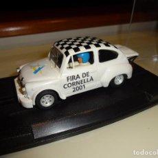 Slot Cars: REPROTEC. FIAT ABARTH 1000 TCR. ED.LTA. FIRA DE CORNELLA 2001.. Lote 129191707