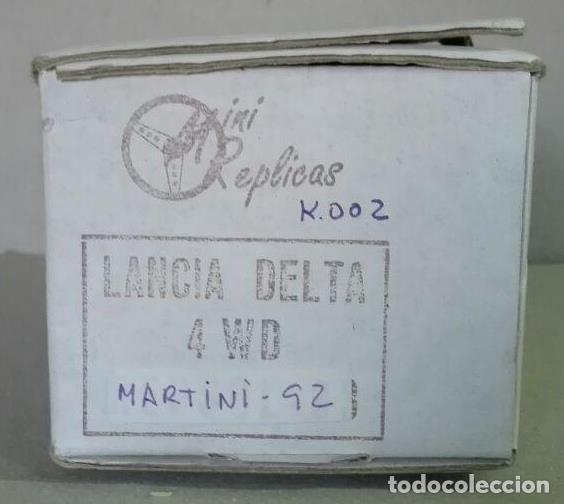 Slot Cars: Mini Replicas K003 Kit + chasis SRS completo Lancia Delta 4WD Integrale Martini '92 Scalextric SCX - Foto 8 - 129265315