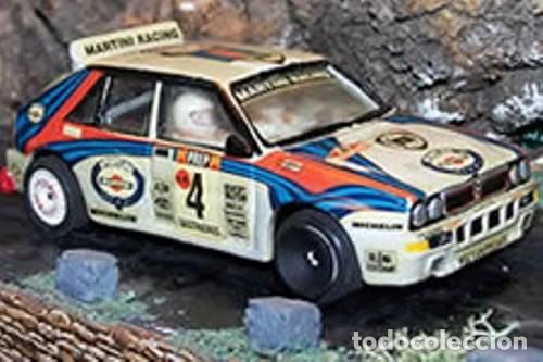 Slot Cars: Mini Replicas K003 Kit + chasis SRS completo Lancia Delta 4WD Integrale Martini '92 Scalextric SCX - Foto 9 - 129265315